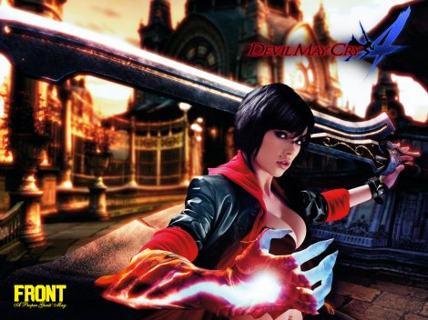 Devil May Cry 4 - Vikki Blows